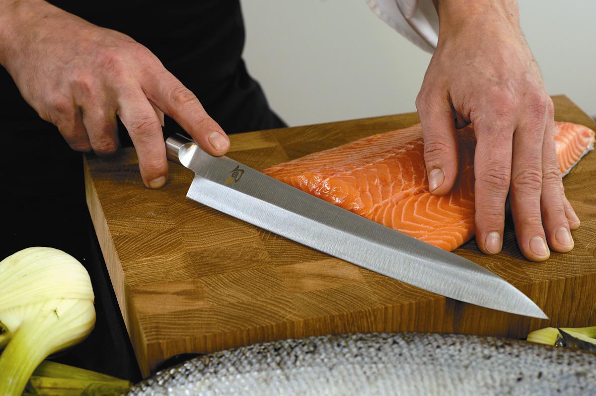 Как пользоваться кухонным ножом