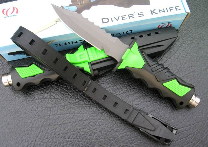 Подводный водолазный нож