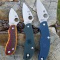 маленькие складные ножи spyderco