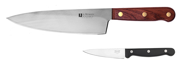 Основные типы кухонных ножей: шеф нож и нож для чистки